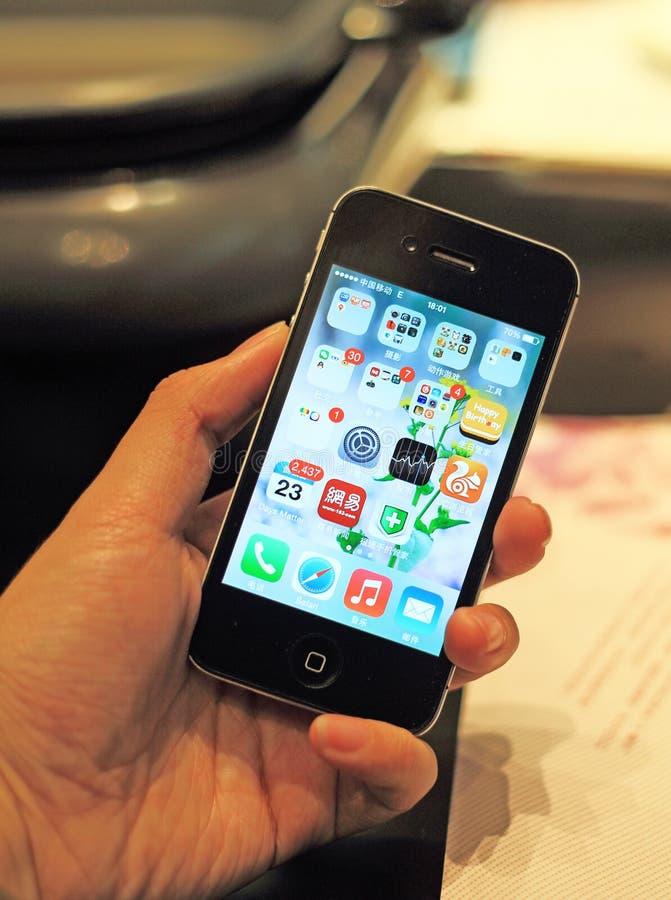 Iphone lizenzfreies stockfoto