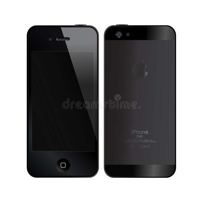 IPhone5 stock illustratie