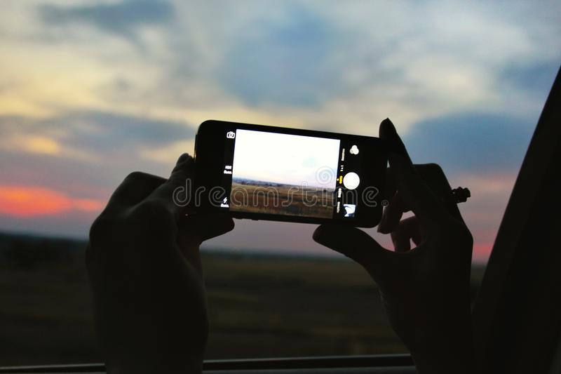 Iphone 图库摄影