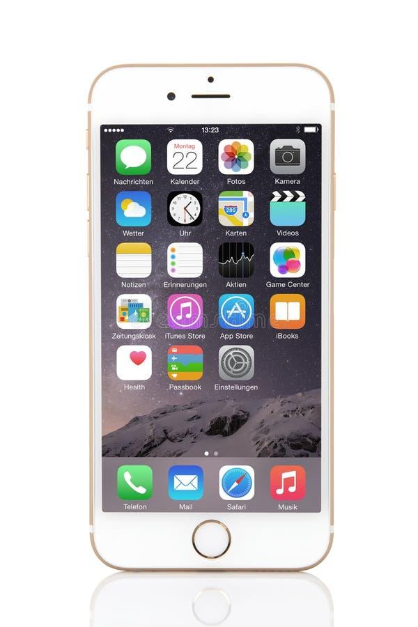 IPhone 6 royalty-vrije stock afbeeldingen