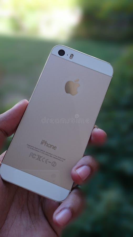 IPhone 5 fotografia stock