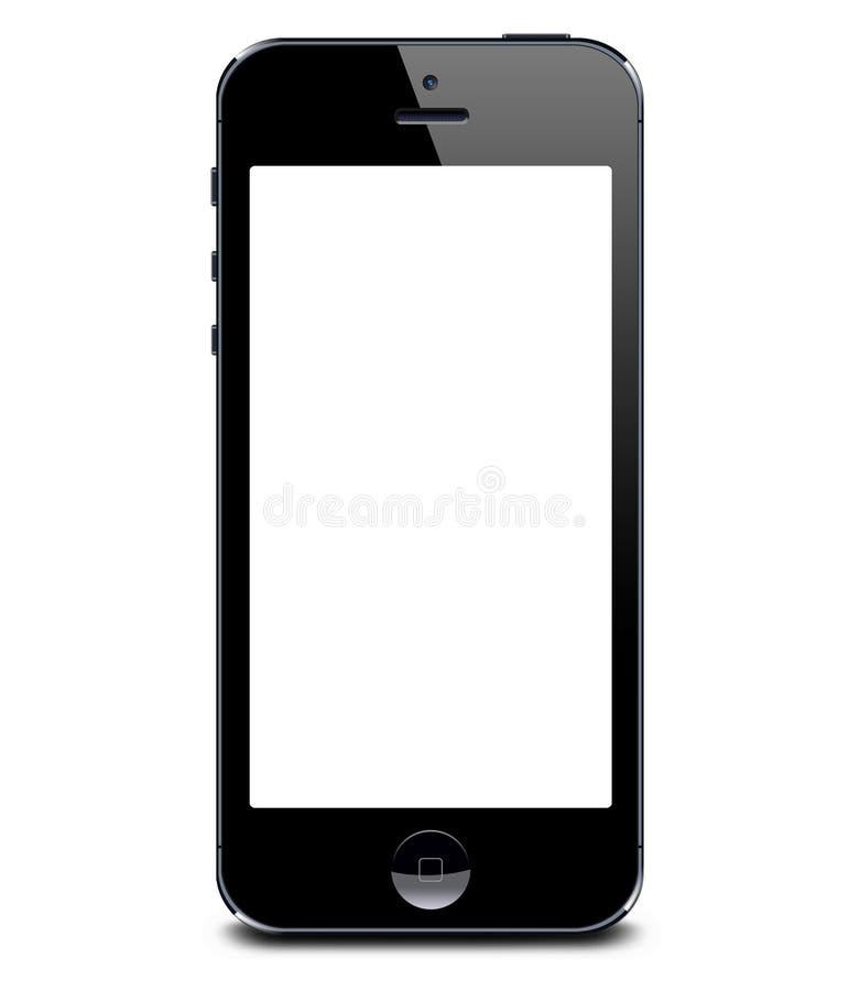 IPhone 5 ilustração do vetor
