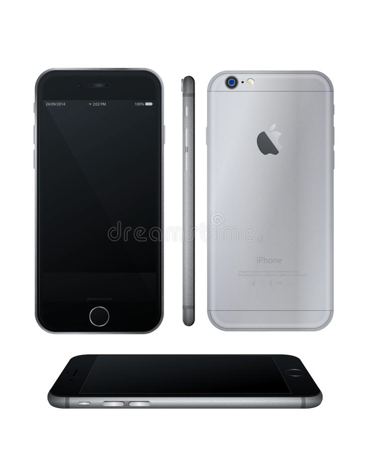 IPhone 6 illustration libre de droits