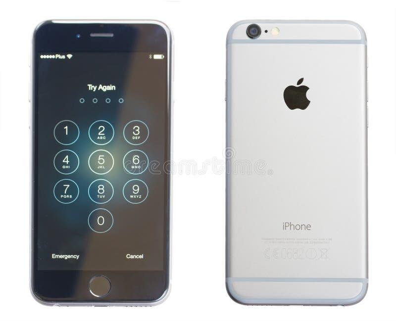 IPhone 6 stock afbeelding