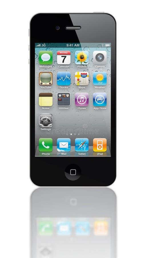 Iphone 4s imagens de stock