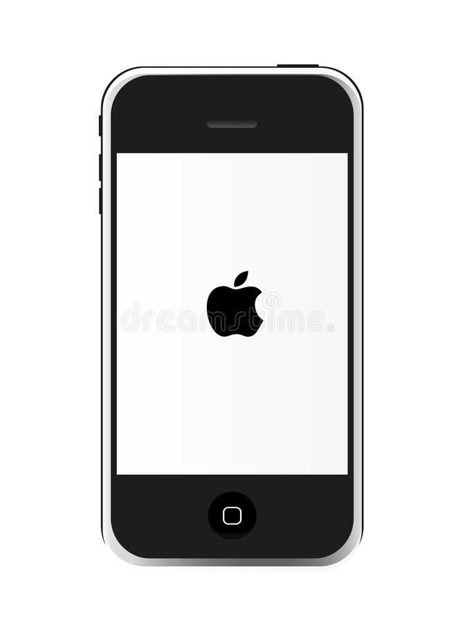 iphone 4s vektor illustrationer