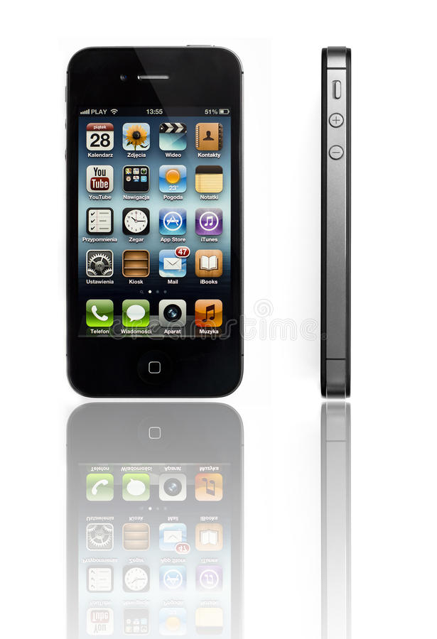 Iphone 4s royalty free stock photo