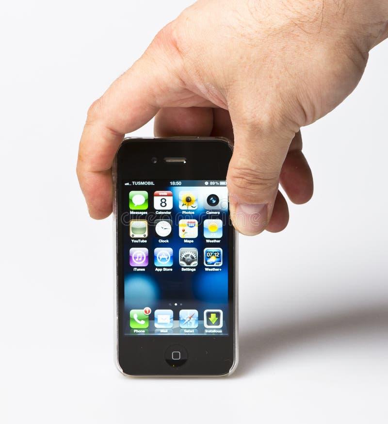 iPhone 4S d'Apple photo libre de droits