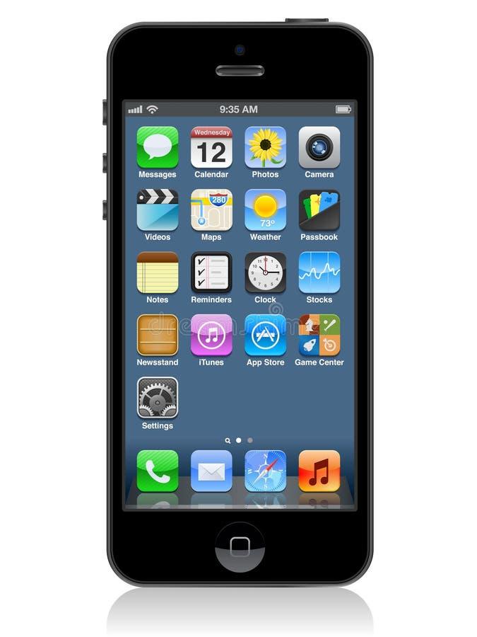 Iphone 5 ΔΙΑΝΥΣΜΑ ελεύθερη απεικόνιση δικαιώματος