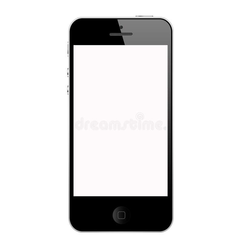 iphone 5 ο Μαύρος στοκ φωτογραφία με δικαίωμα ελεύθερης χρήσης