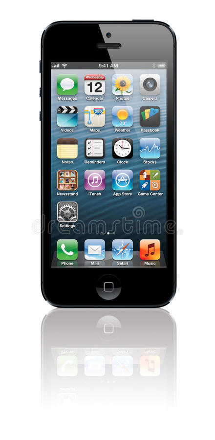 IPhone 5. New Apple iPhone 5 arrives September 12