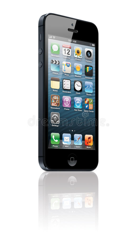 IPhone 5 иллюстрация штока
