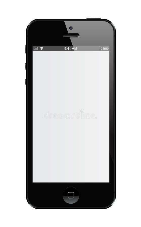 IPhone 5 royalty-vrije illustratie