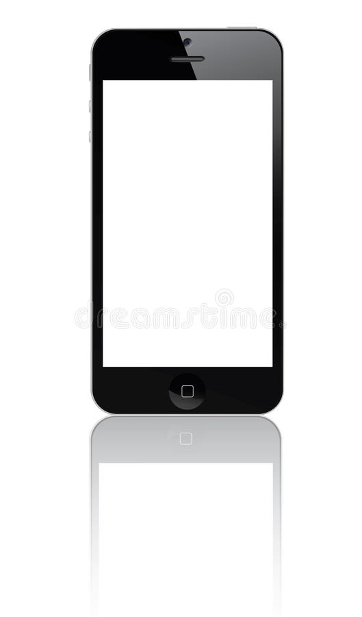 Iphone 5 ilustracji