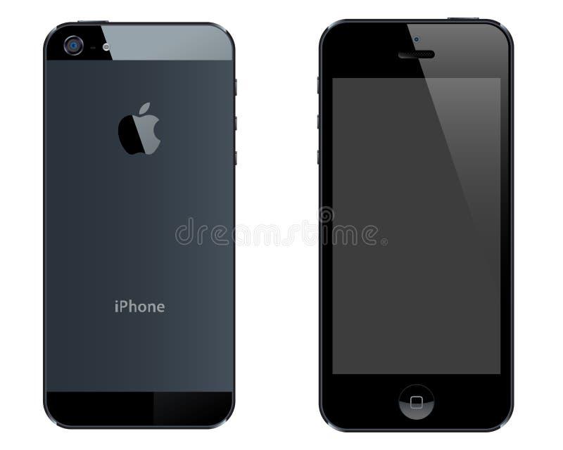 Iphone 5 illustration de vecteur