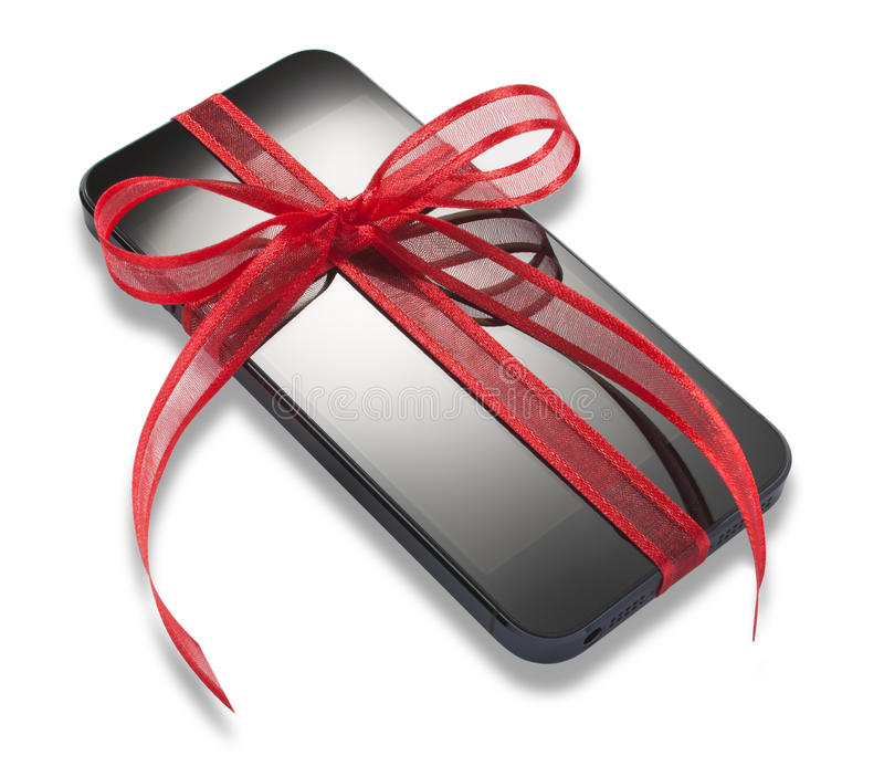 Download Mobile Cell Phone Christmas Present Gift Editorial Stock Photo - Image: 27327863