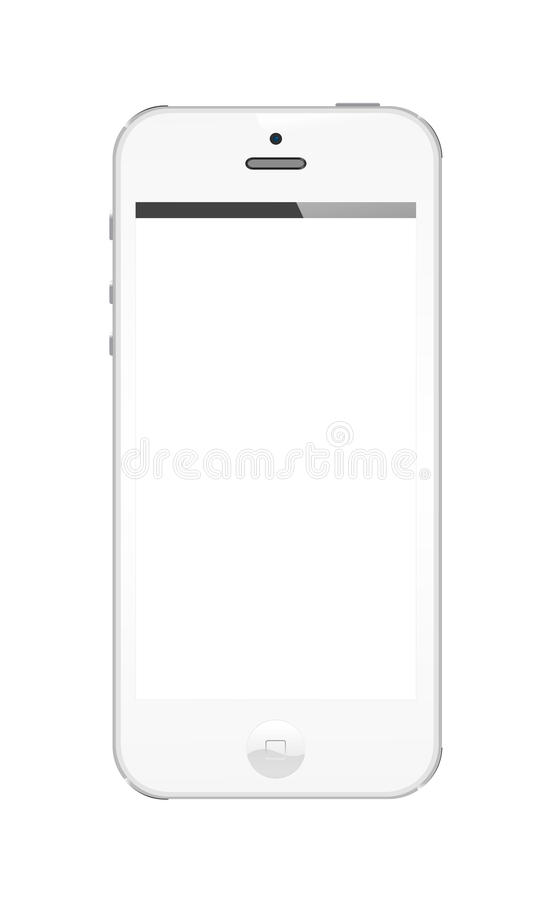 Download Iphone 5 white editorial image. Illustration of business - 27638130
