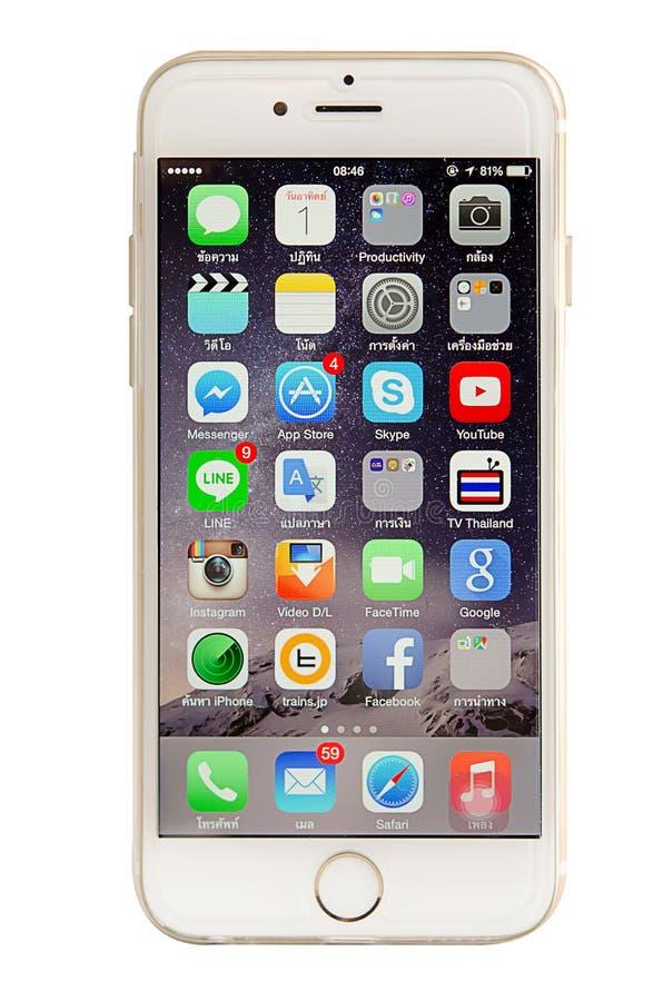 IPhone 6 图库摄影