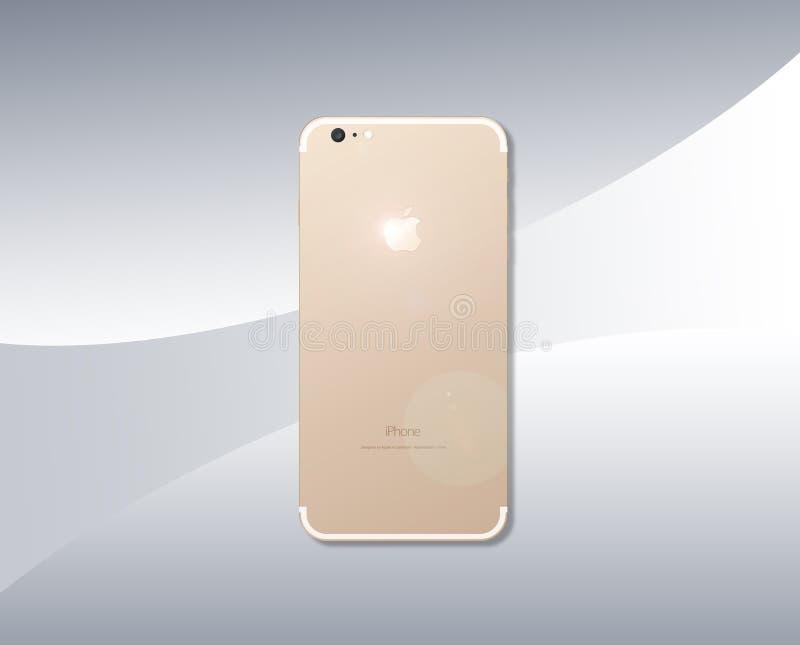 IPhone 7 illustration de vecteur