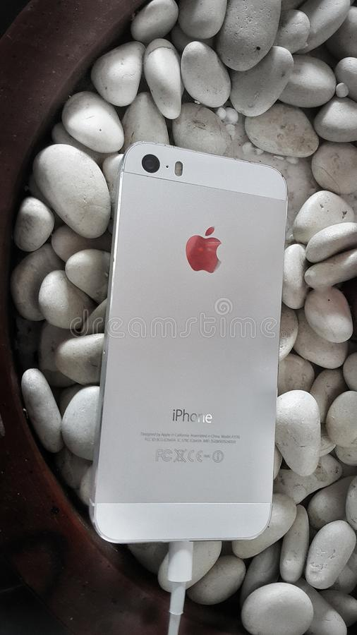 IPhone 5 στοκ φωτογραφία με δικαίωμα ελεύθερης χρήσης