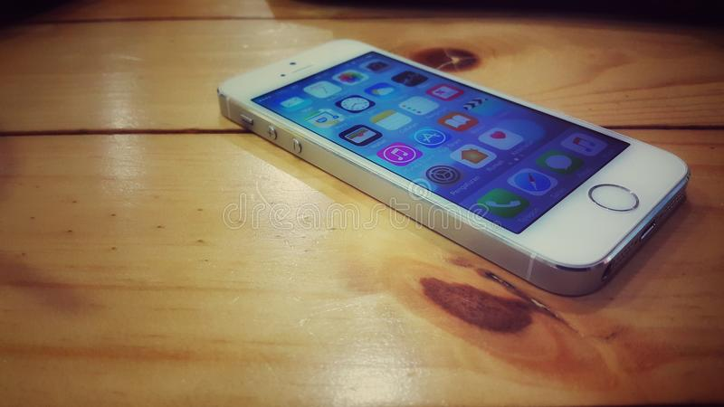 IPhone 5 στοκ εικόνες