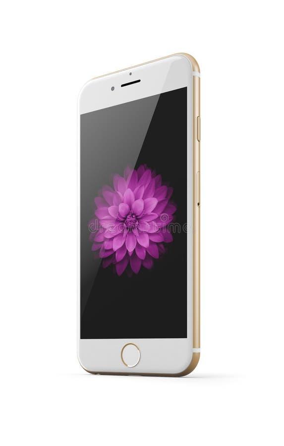 IPhone 6 de Apple ilustração stock