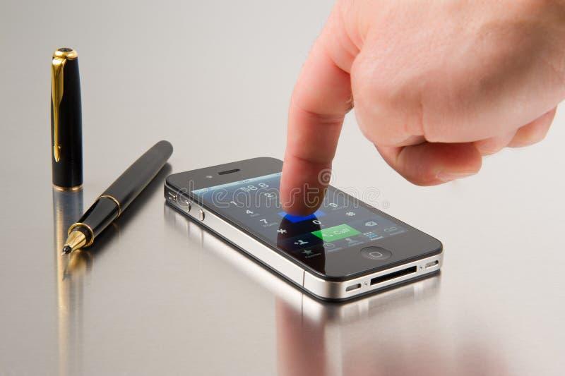 iphone för äpple 4s royaltyfri foto