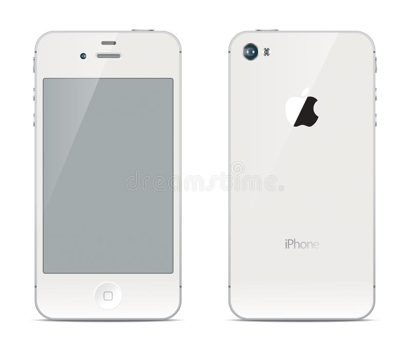 Download IPhone Front And Back Sides Editorial Stock Image - Image: 35043739
