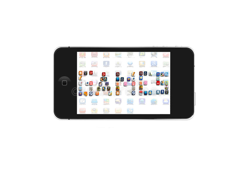 Download Iphone Games Icon Editorial Stock Image - Image: 20291579