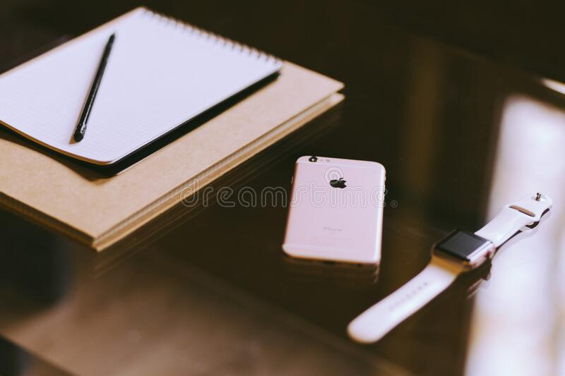 Iphone Iwatch And Notebook_2 Free Public Domain Cc0 Image