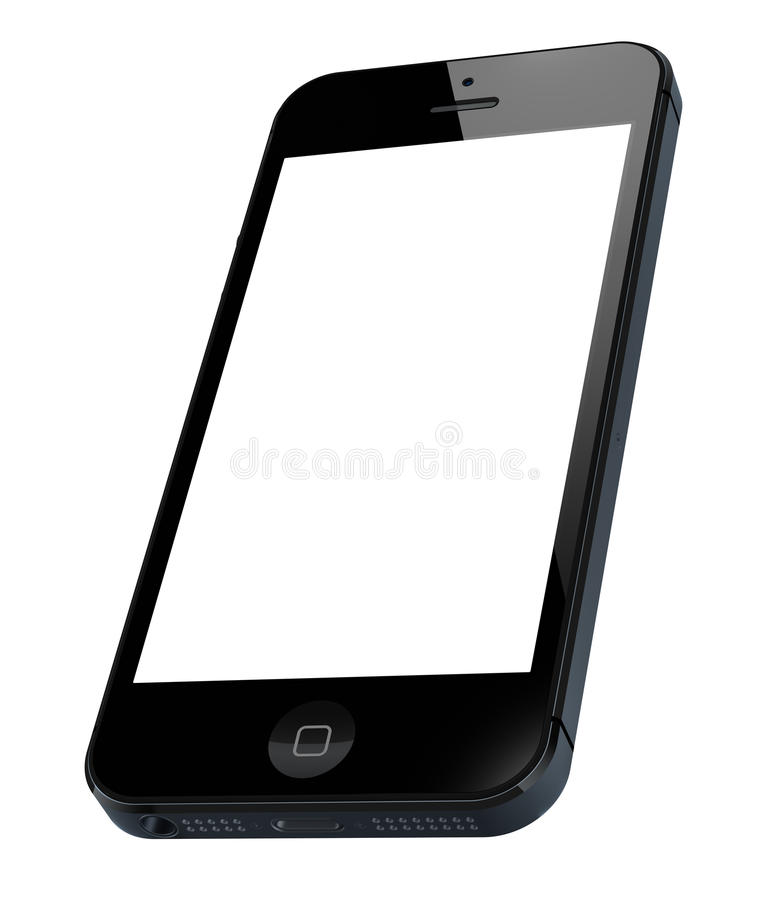 iPhone neuf 5 d'Apple illustration stock