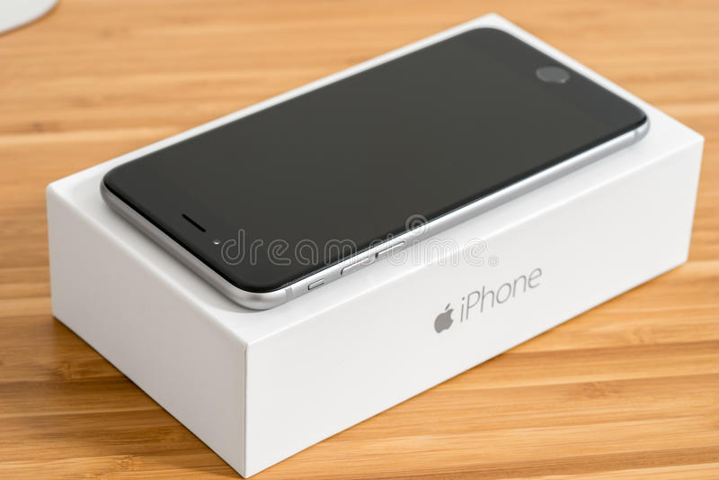 Iphone 6 Plus stockbilder