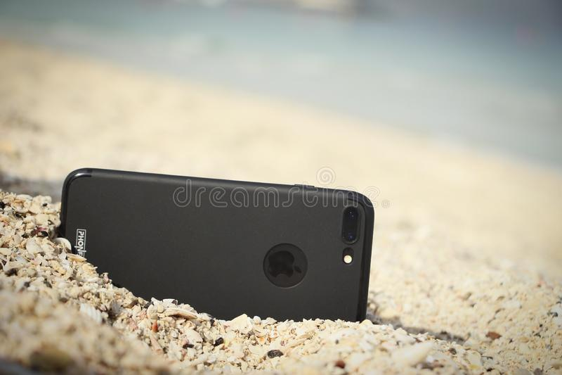 Iphone 7plus obraz stock
