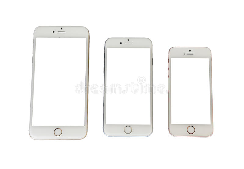 Iphone 7 pusty ekran zdjęcia royalty free