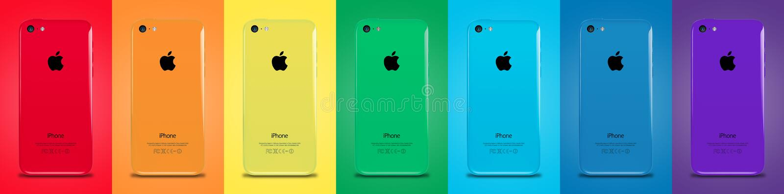 Iphone 5s royalty ilustracja
