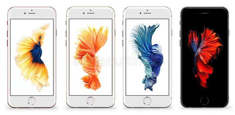 Iphone 6s стоковые изображения