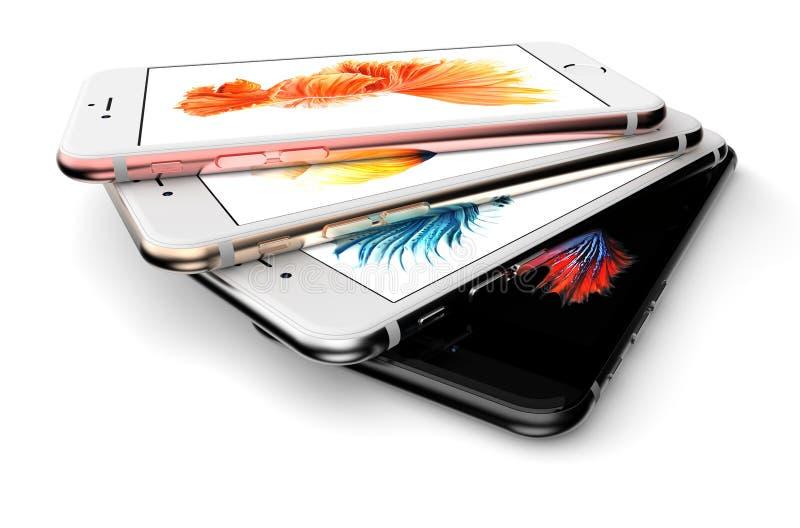 Iphone 6s fotografía de archivo libre de regalías