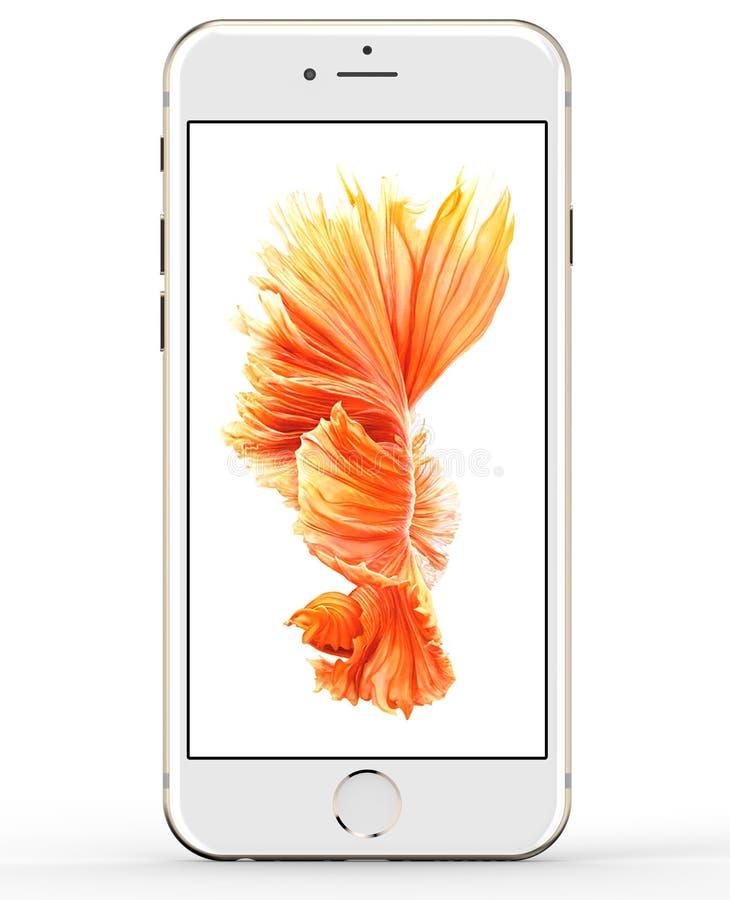 IPhone 6s 2015 di Apple fotografia stock