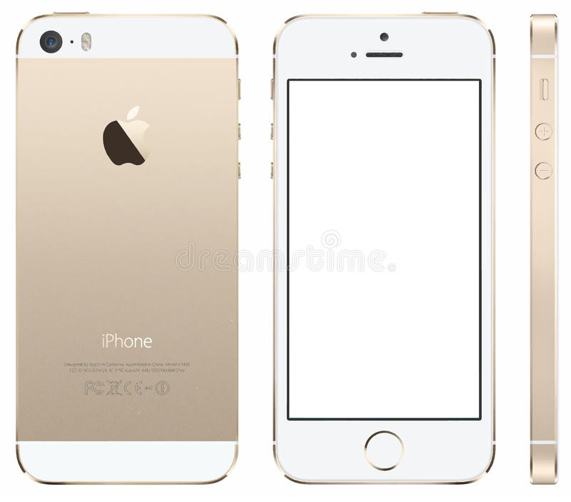 Iphone5s Vector vector illustratie