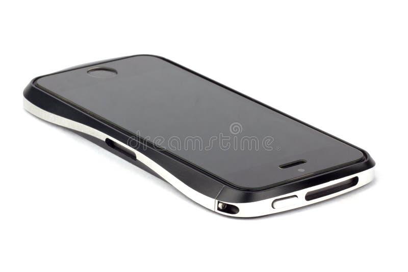 Iphone su fondo bianco fotografie stock