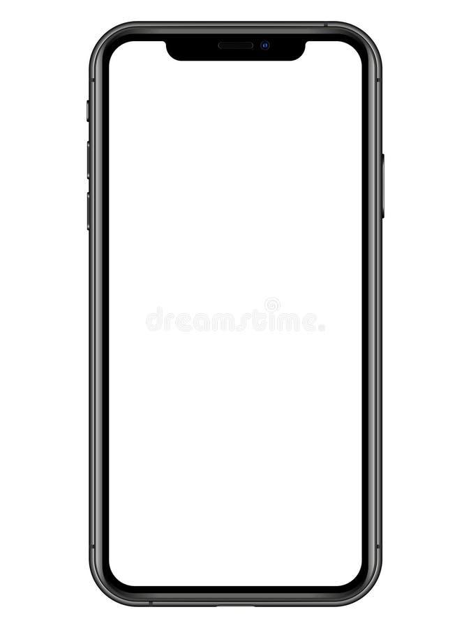 iPhone XS stock illustrationer