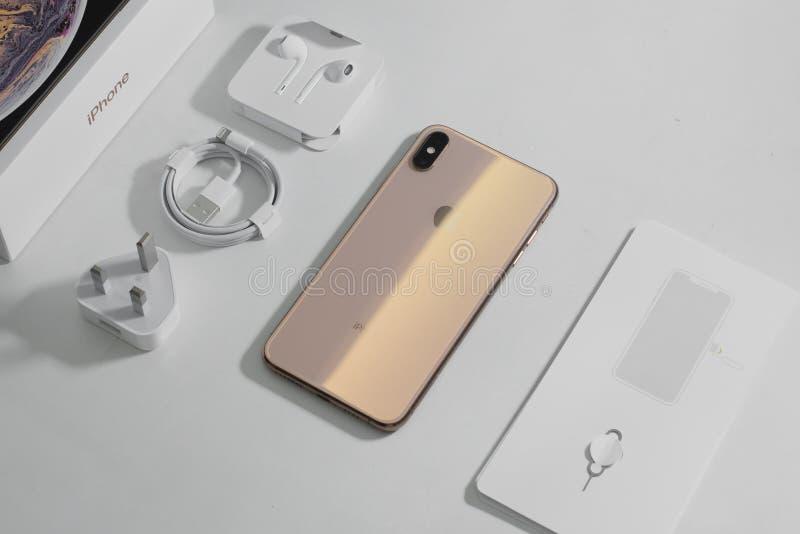 IPhone XS Max fotografia stock