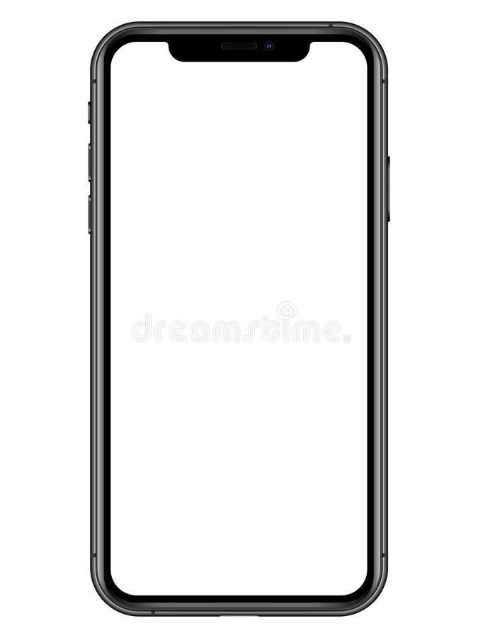 Iphone XS stock illustration