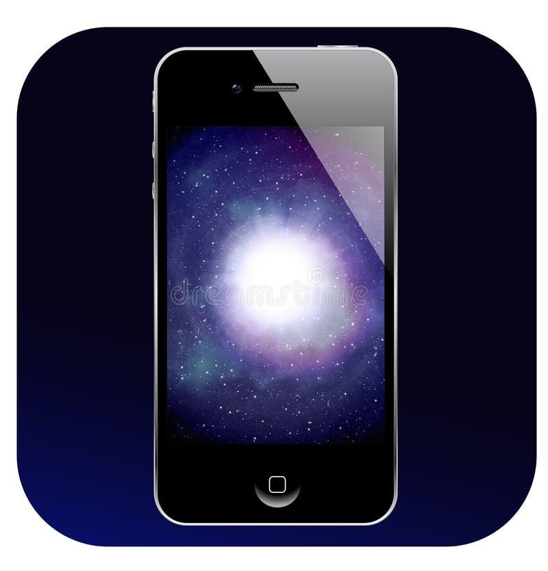 Iphone4 Pictogram stock illustratie