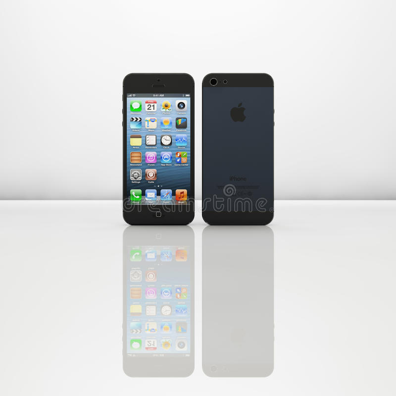 Iphone5 Editorial Stock Photo