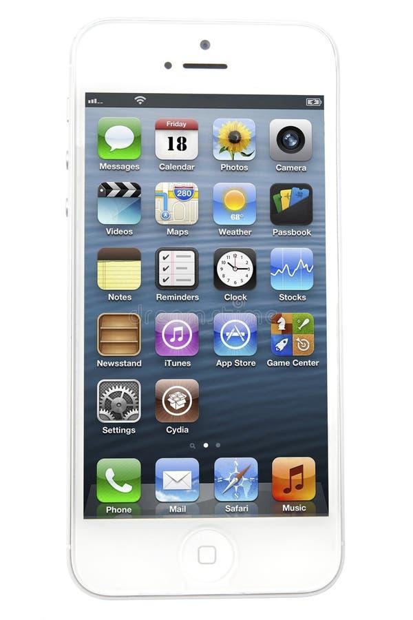 IPhone5 fotografia de stock