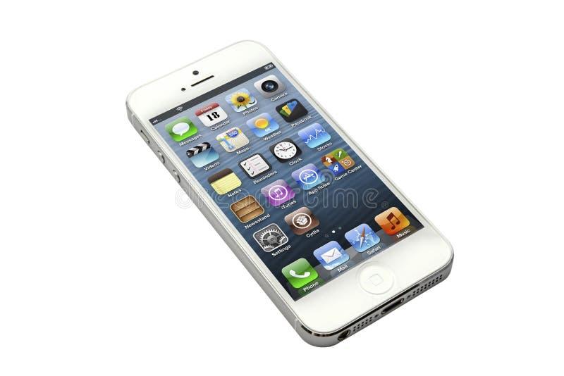 IPhone5 imagem de stock royalty free
