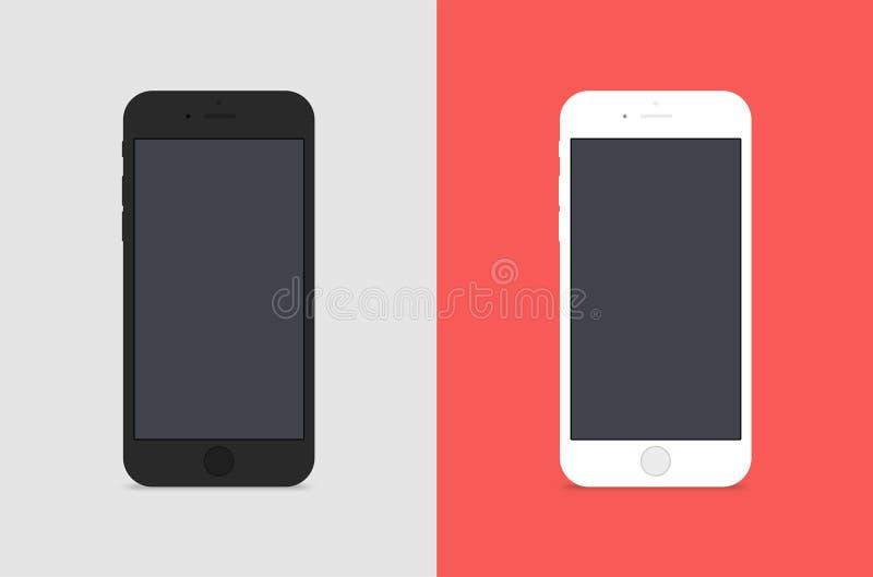 2 IPhones libre illustration