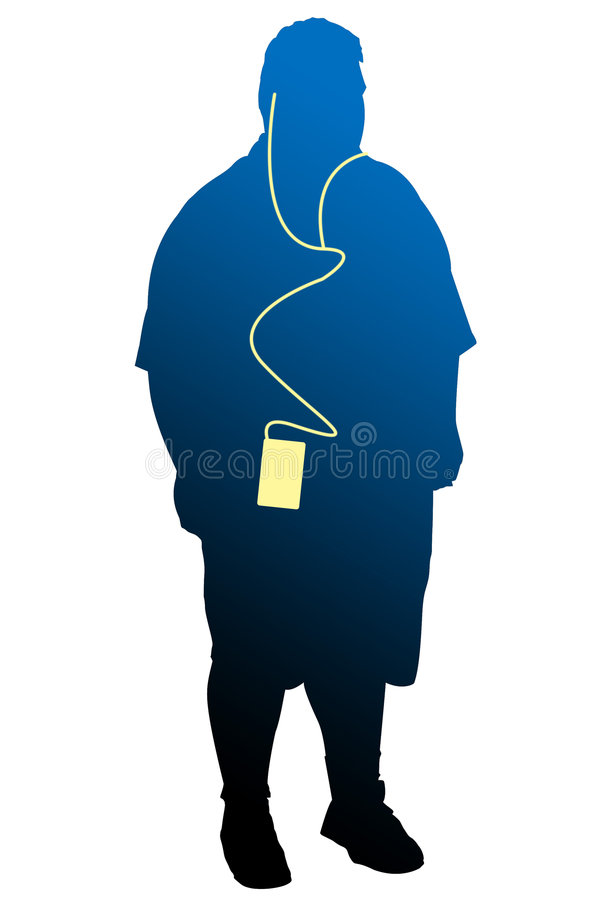iPod 免版税库存照片