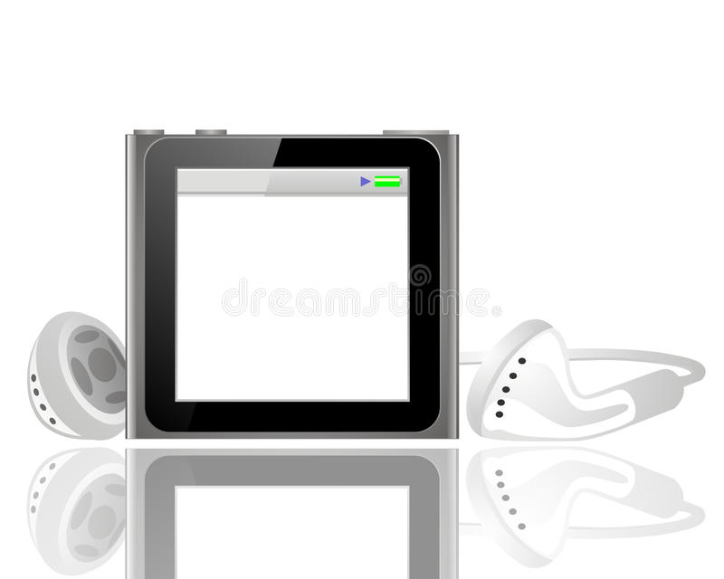 iPod stock illustrationer